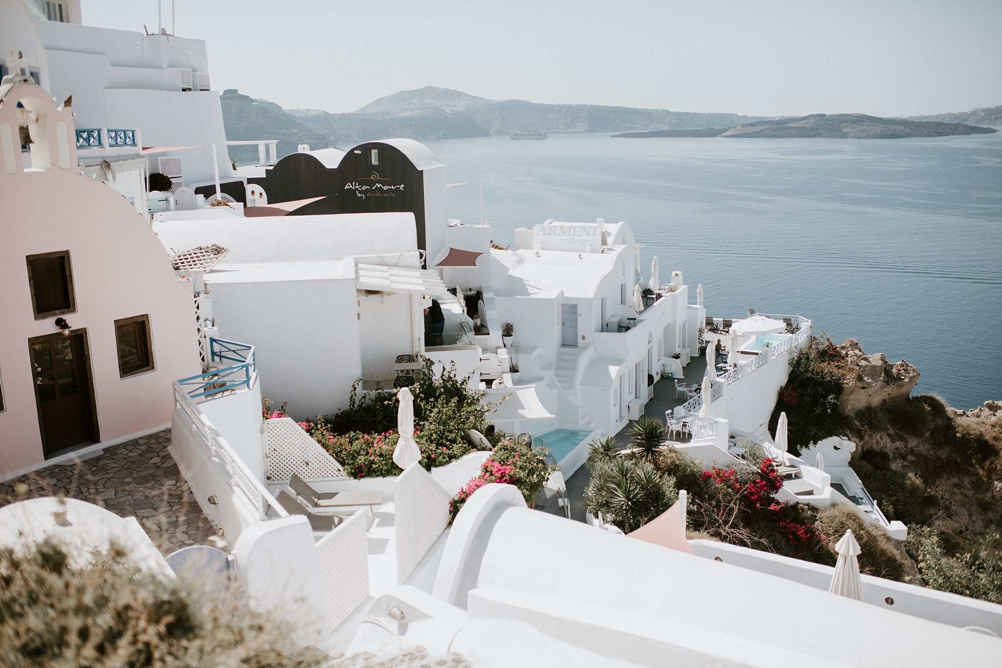 Santorini Greece Travel Tips by Kristen Kaiser Photography