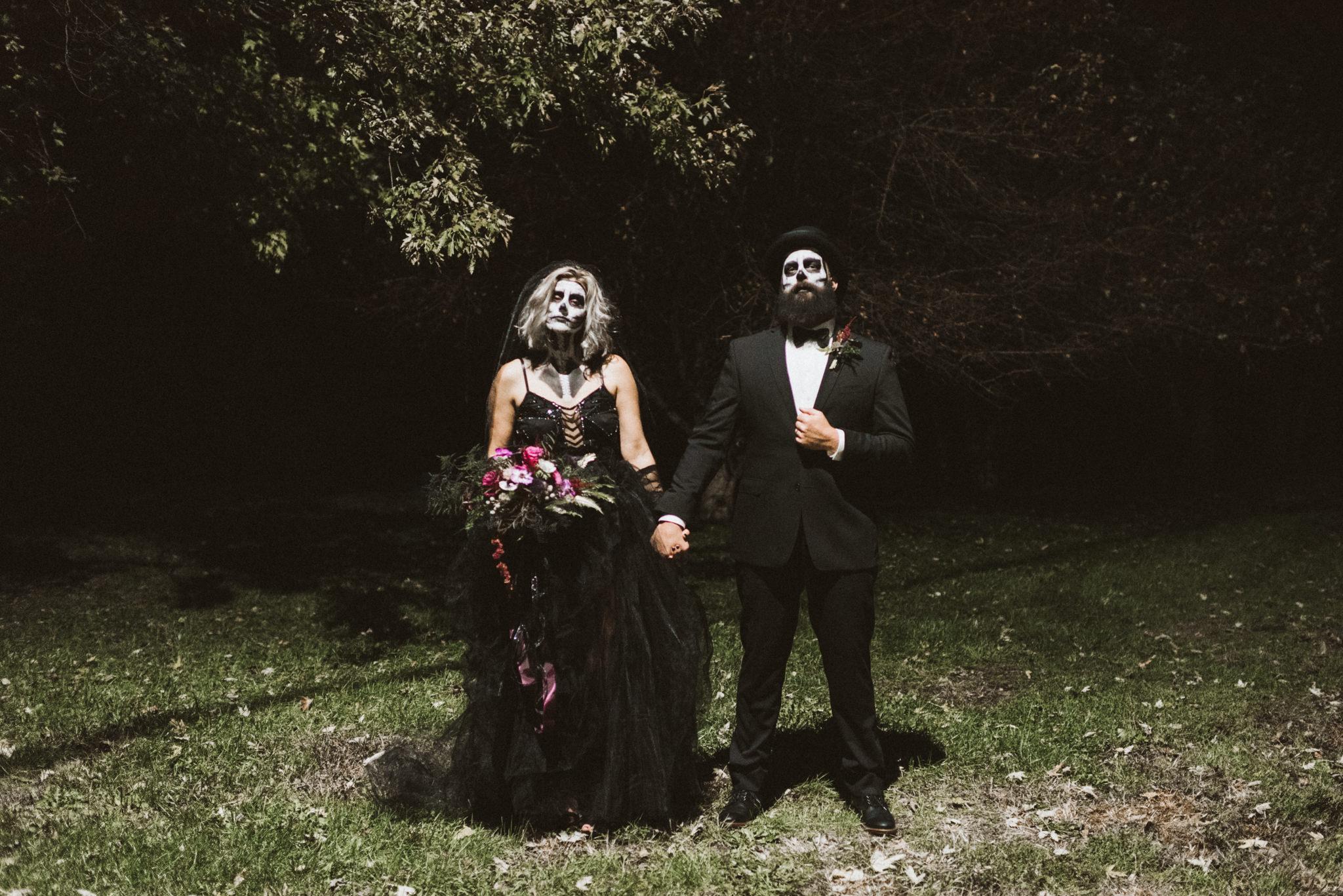 Couple's Classy Skeleton Halloween Costume 2018