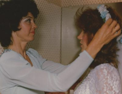 Vintage wedding photos on film by central Illinois photographer Kristen Kaiser
